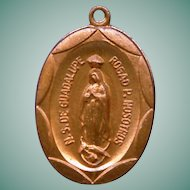 Our Lady of Guadalupe Copper Medal – NOS