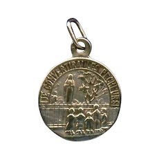 """Scarce Silver Pilgrimage Medal 