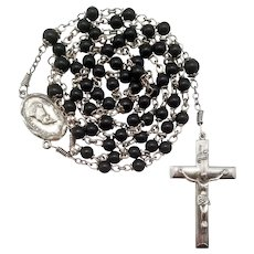 Rare Creed® Sterling Bakelite Vintage Catholic Rosary | Our Lady of La Salette