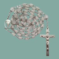 Vintage Wire-Wrapped Catholic Rosary