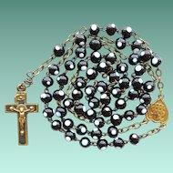 Antique Murano Glass Bead & Brass Catholic Rosary – Jesuit Center