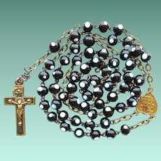 Antique Murano Glass Bead & Brass Catholic Rosary – Jesuit Center