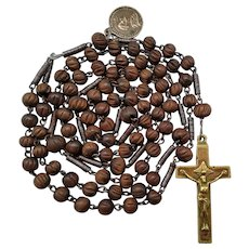 1800s Franciscan Crown Catholic Rosary | Seven Joys of Mary | Four Nails
