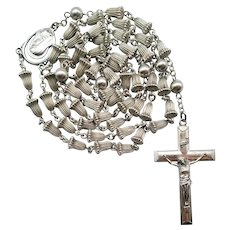 20C Creed® Sterling Rosary Wedding Bell Beads | 43 Grams