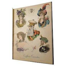 "1907: First Edition "" Album de Coiffures Travesties """