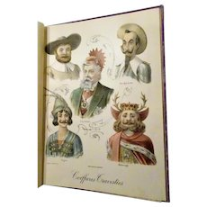 "1907 : First Edition, "" Album De Coiffures Travesties "" Volume ll"