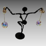 1960's : Vendome Disco Ball Earrings