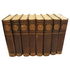 """1910: Scarce, First Editions, """" Every Womens Encyclopedia """" Complete 8 Volume Set"""