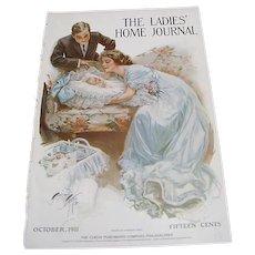 "1911: Original LHJ Cover "" Bundle of Joy "" by Harrison Fisher"