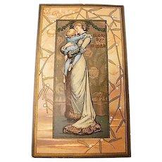 1881: Louis Prang Prize Winning Christmas Card