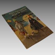Circa 1910: Rare Halloween Postcard