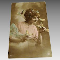 """"""" The Butterfly Whispherer """" RPP Postcard"""