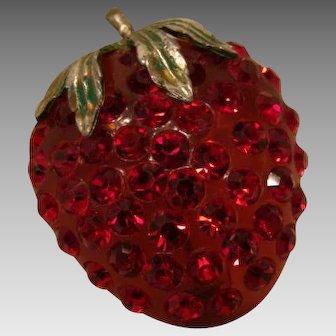 Yummy, Forbidden Fruit Strawberry Brooch