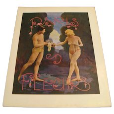 "1925 Casino de Paris Revue for "" Paris en Fleurs """