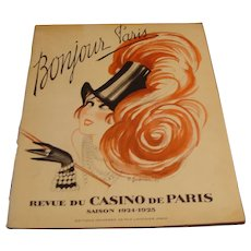 Casino de Paris Revue 1924 &1925