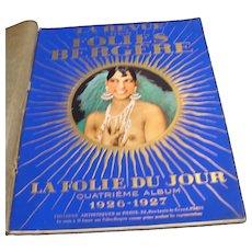 1926 Follies Bergere Revue Staring, Josephine Baker