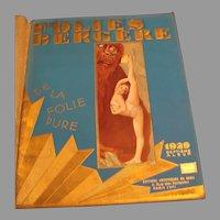 1929 Folies Bergere Revue Albim