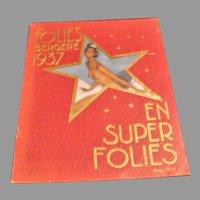 1937 Folies Bergere Revue Album Starring Josephine Baker