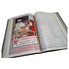 """1912: Bound Issues of """" The Delineator """" Magazine by Butterick Company"""