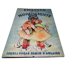 "1935: First Edition of "" Children Of The Northern Lights "" by Ingri & Edgar Parin D' Aulaire"