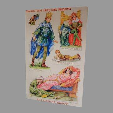 "Tuck's "" The Sleeping Beauty "" Fairy Land Postcard"