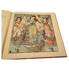 "1877 : First Edition,"" Baby's Opera "" by Walter Crane"