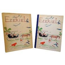 "1937 : Signed, First Edition "" Ezekiel "" by Elvira Garner PLUS Original Photograph"