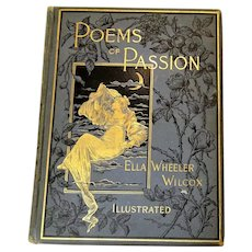 "1888: "" Poems of Passion "" by Ella Wheeler Wilcox"
