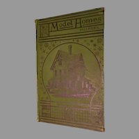 1878: First Edition 'Model Homes' by Pallisers Architect's