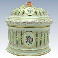 Herend Pierced Bonbonniere Box