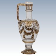 Lobmeyr Raised Gold Mini Ewer