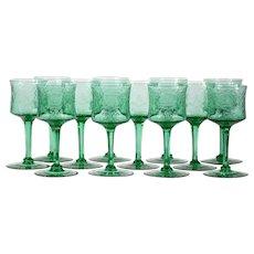 12 Hawkes Wine Glasses