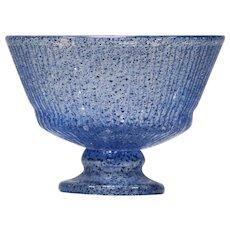 Daum Nancy Art Deco Footed Bowl