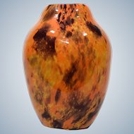 Schneider Art Glass Vase