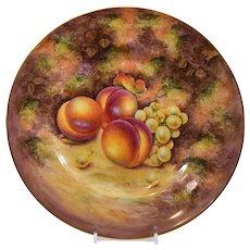Royal Worcester Handpainted FruitDinner Plate