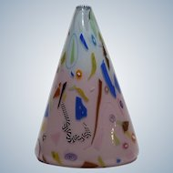 Richard Marquis Hand Blown Murrine Glass Vase