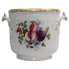 KPM Hand Painted Jardiniere / Wine Cooler