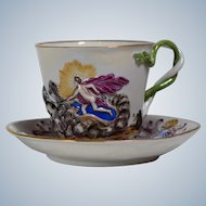 Herend Handpainted Tea Cup & Saucer