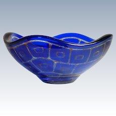 Orrefors Ravenna No. 1600 Art Glass Bowl