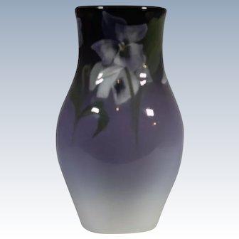 Rookwood Pansy's Glaze Vase