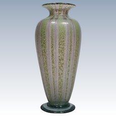 Nash Art Glass Vase Chintz