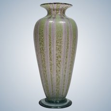 Nash Art Glass Vase Chintz