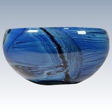 Josh Simpson Art Glass Bowl