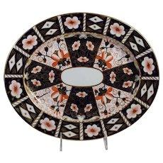 Royal Crown Derby Platter Traditional Imari Pattern 2451