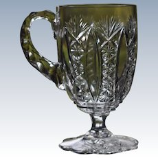 Baccarat Conde Footed Cut Glass Cup