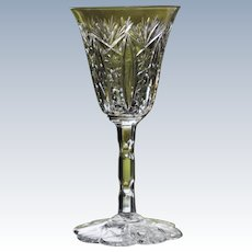Baccarat Conde Cut Glass Cordial