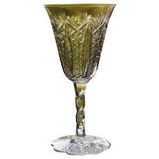 Baccarat Conde Cut Glass Wine