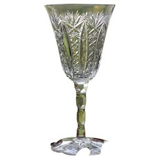 Baccarat Conde Cut Glass Red Wine