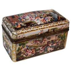 Capodimonte Hand Painted Box