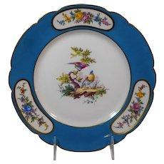 Rouard Fine Paris Porcelain Cabinet Plate